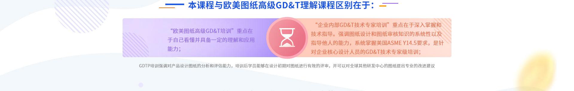 技术专家GDTP培训与欧美图纸高级GD&T理解课程的区别: